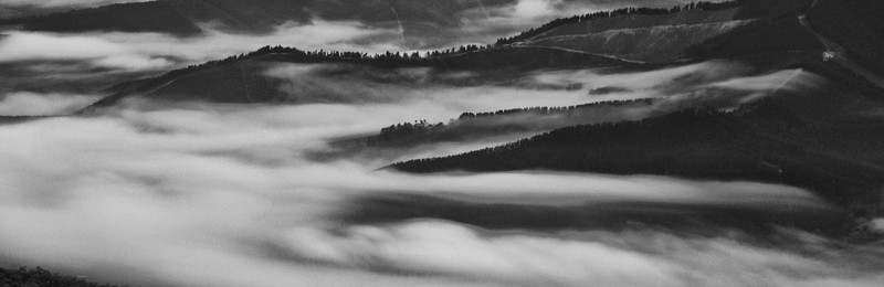 Morning mist in the Alpine Valleys