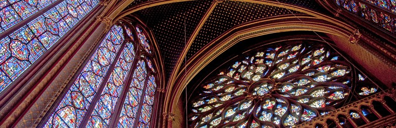 Rose Window at St Chapelle