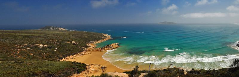 View onto Fairy Cove
